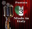 LOGO MADE IN ITALY CON NUMERO TERZA PUNTATA